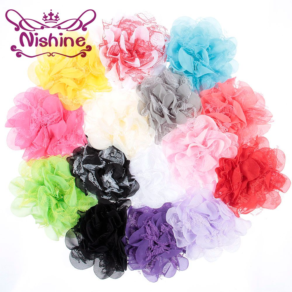 Cheap Chiffon Lace Flower Buy Quality Flowers For Headbands