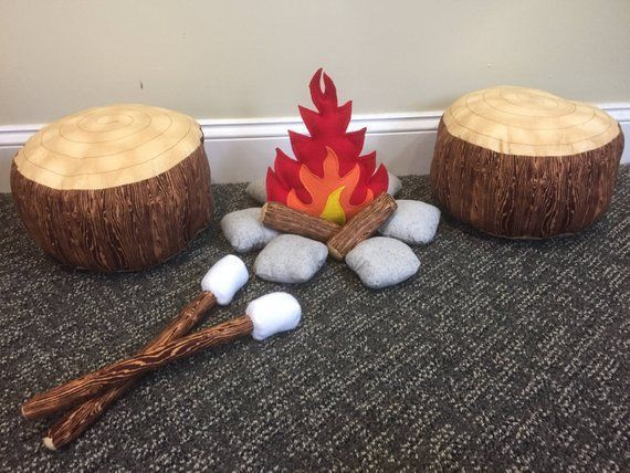 LAST ONE, Discontinued Rock Fabric, Kids Campfire Set with 2 Log seats and 2 Marshmallow Sticks, Brown Bark, Gray Stones #marshmallowsticks SALE, Kids Campfire Set with 2 Log seats and 2 Marshmallow Sticks, Brown Bark Logs and Gray River Rock #marshmallowsticks LAST ONE, Discontinued Rock Fabric, Kids Campfire Set with 2 Log seats and 2 Marshmallow Sticks, Brown Bark, Gray Stones #marshmallowsticks SALE, Kids Campfire Set with 2 Log seats and 2 Marshmallow Sticks, Brown Bark Logs and Gray River #marshmallowsticks