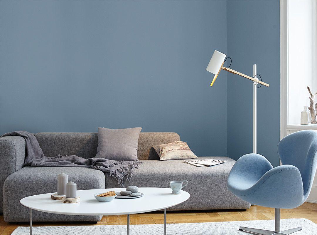 alpina feine farben no 14 ruhe des nordens in gro en r umen kann dieser farbton seine. Black Bedroom Furniture Sets. Home Design Ideas