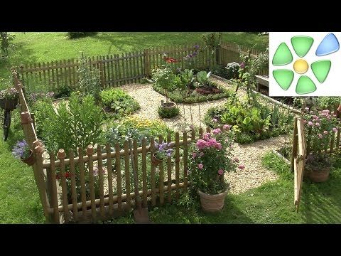garten video bauerngarten anlegen und bepflanzen mit gem se salat blumen g rten pinterest. Black Bedroom Furniture Sets. Home Design Ideas