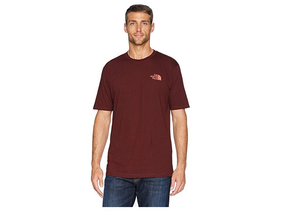 The North Face Short Sleeve Red Box Tee Sequoia Red Faded Rose