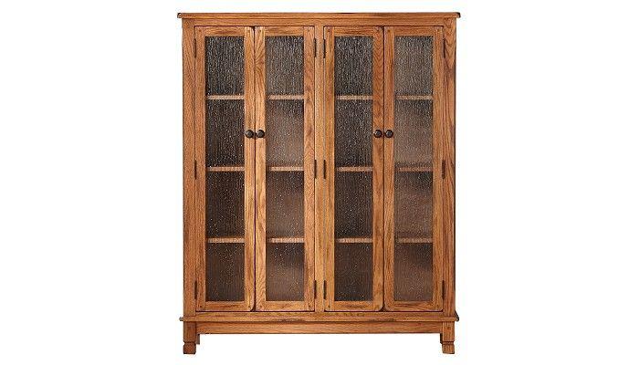 Slumberland Furniture - Sedona Collection - 4 Door Bookcase Curio - Slumberland Furniture Stores and Mattress Stores