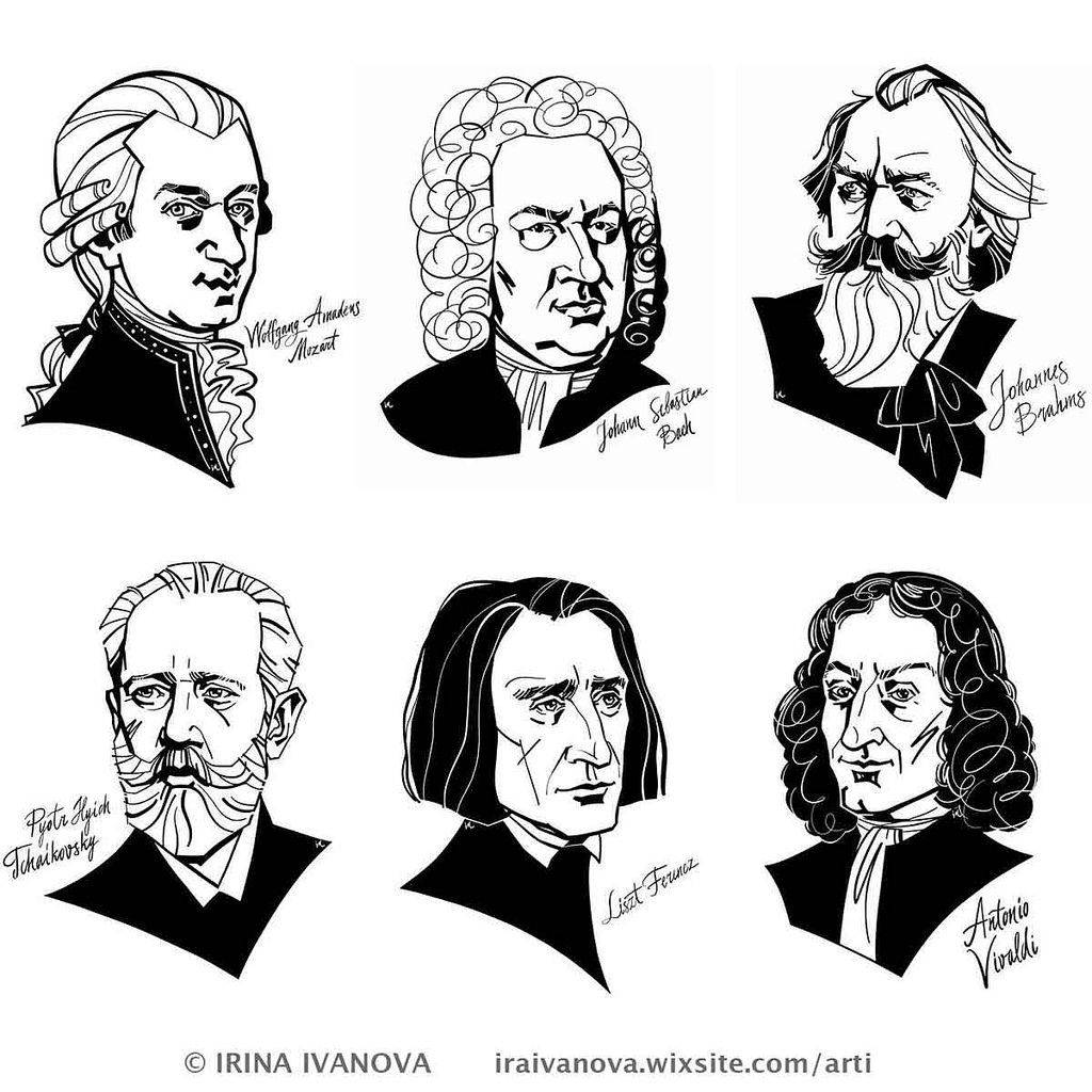 6 5 In 2020 Music Illustration Classical Music Composers Music