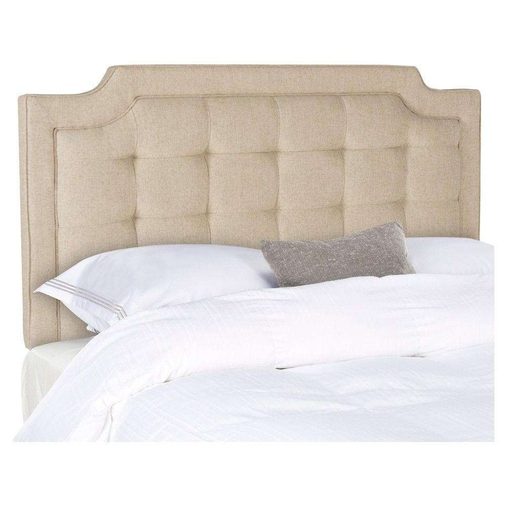 Saphire Headboard Hemp Queen Safavieh Decoracion  # Muebles Saphire
