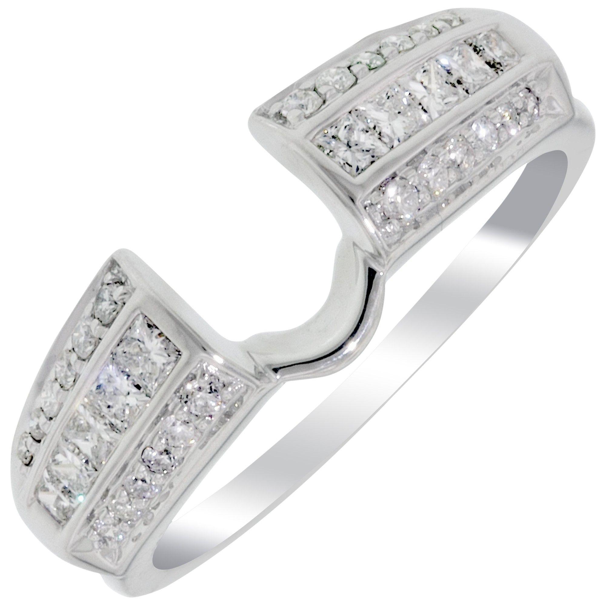 wrap Wedding ring wraps, Diamond wedding rings