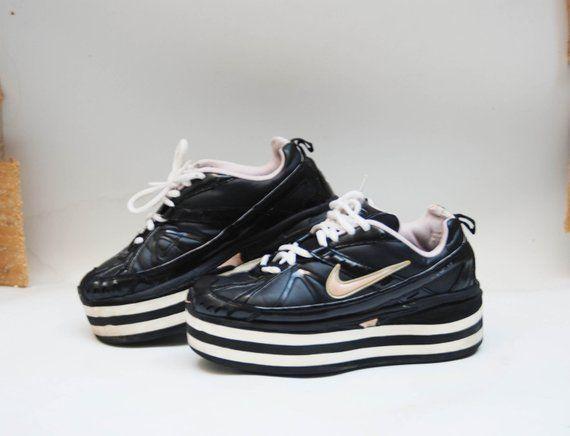b78848971cb platform shoes vintage platform platform sneakers black platform boots  cosplay shoes 90s platforms womens platform high