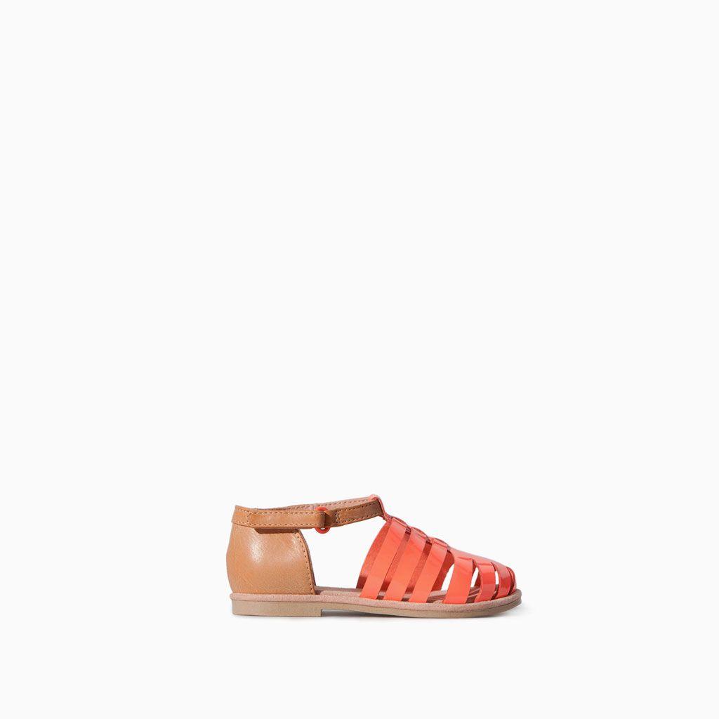 24fec553a73020 ZARA - KIDS - Combined flat sandal
