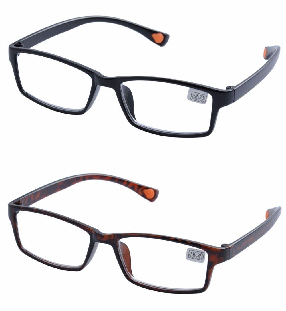 a846f08aea6 EV Fashionable Unisex TR90 Reading Glasses Brand Men Presbyopia Lens  Glasses Strength +1.0-+