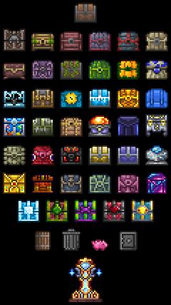 Chest Official Terraria Wiki Cool Pixel Art Pixel Art Design Pixel Art Games