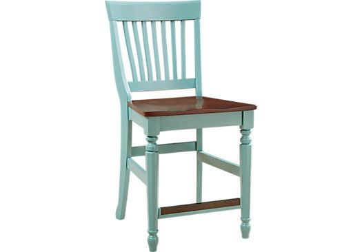 Shop For A Cindy Crawford Home Ocean Grove Blue Green Wood Back