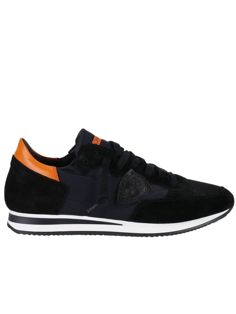 Philippe Model Sneakers Black Shoes For Men Good