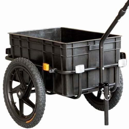 Tiggo 16 Lastenanhanger Handwagen Fahrradanhanger 60kg Zuladung