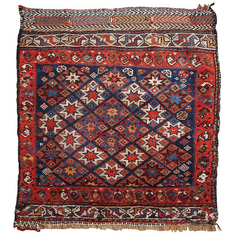 Handmade Antique Khamseh Style Bag Face