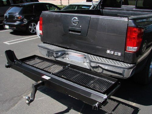 Trailer Hitch Motorcycle Carrier >> Tms 1000 Lb Heavy Duty Motorcycle Scooter Dirt Bike Hauler