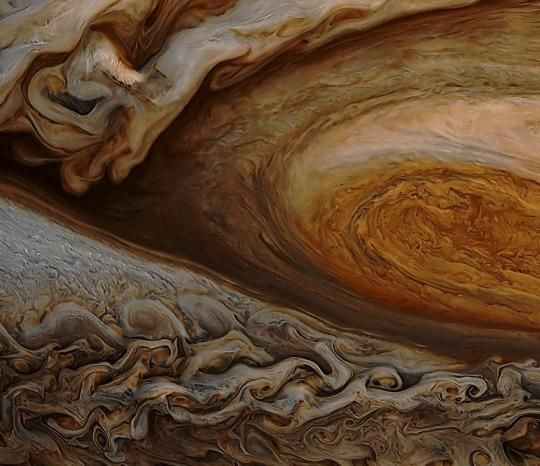 outvade ☾ on | Cool Science | Great red spot, Astronomy ...