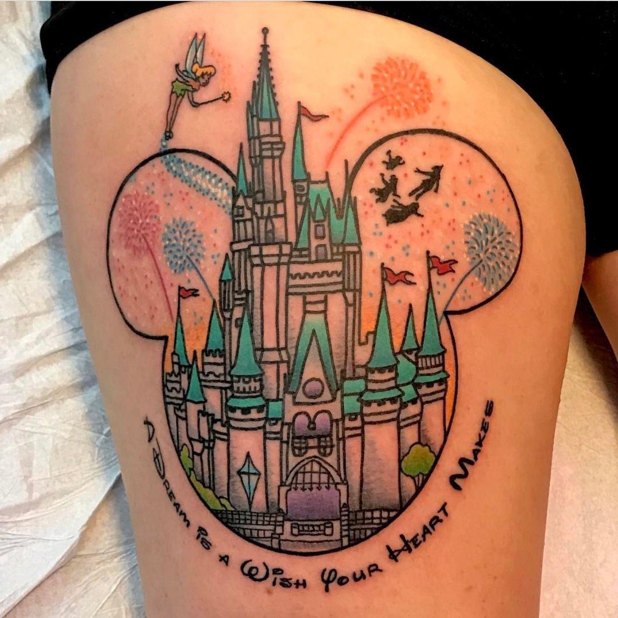 Disney Tattoos, Disney