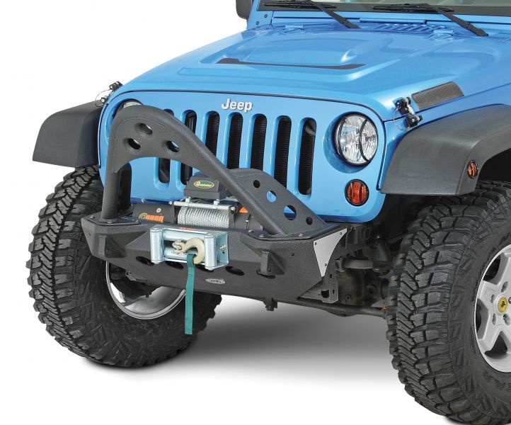 All Things Jeep Xrc Front Bumper With Winch Plate Jeep