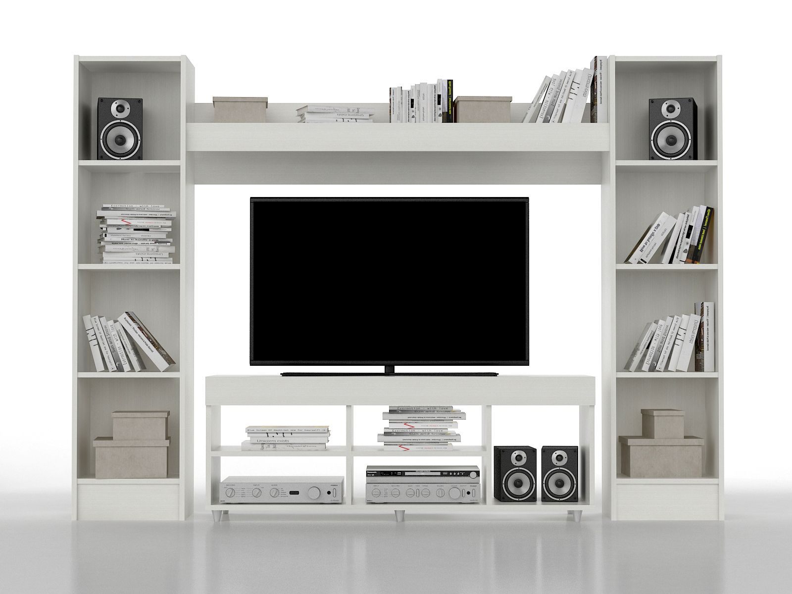 Espaciosos Ideales Para Ubicar Tv Led De Hasta 55 Estos Modelos  # Meuble Tv Zaiken