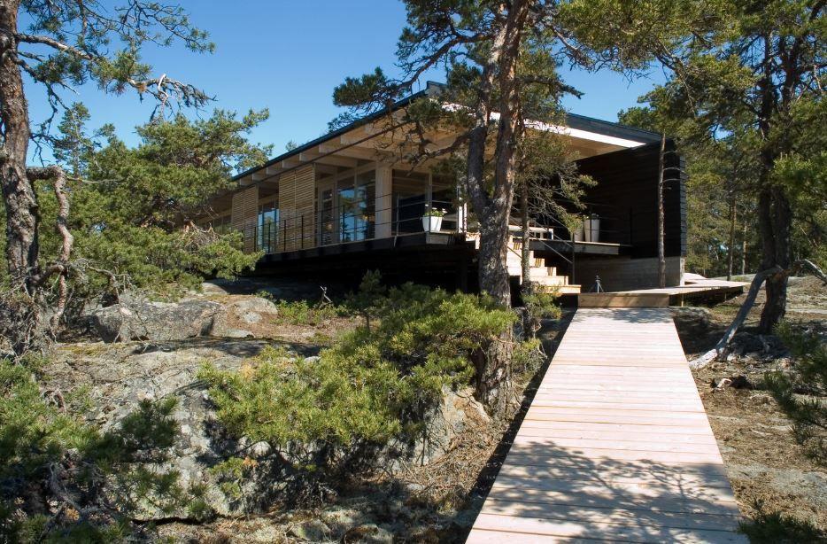 Diseño+de+hermosa+casa+de+campo,+construcción+moderna+con+estructura ...
