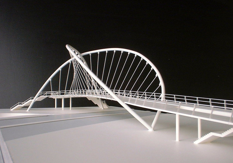 A Suspension Footbridge Produced For Michael Hopkins