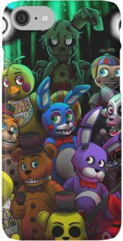 FNaFall togheter iPhone Case & Cover Fnaf wallpapers