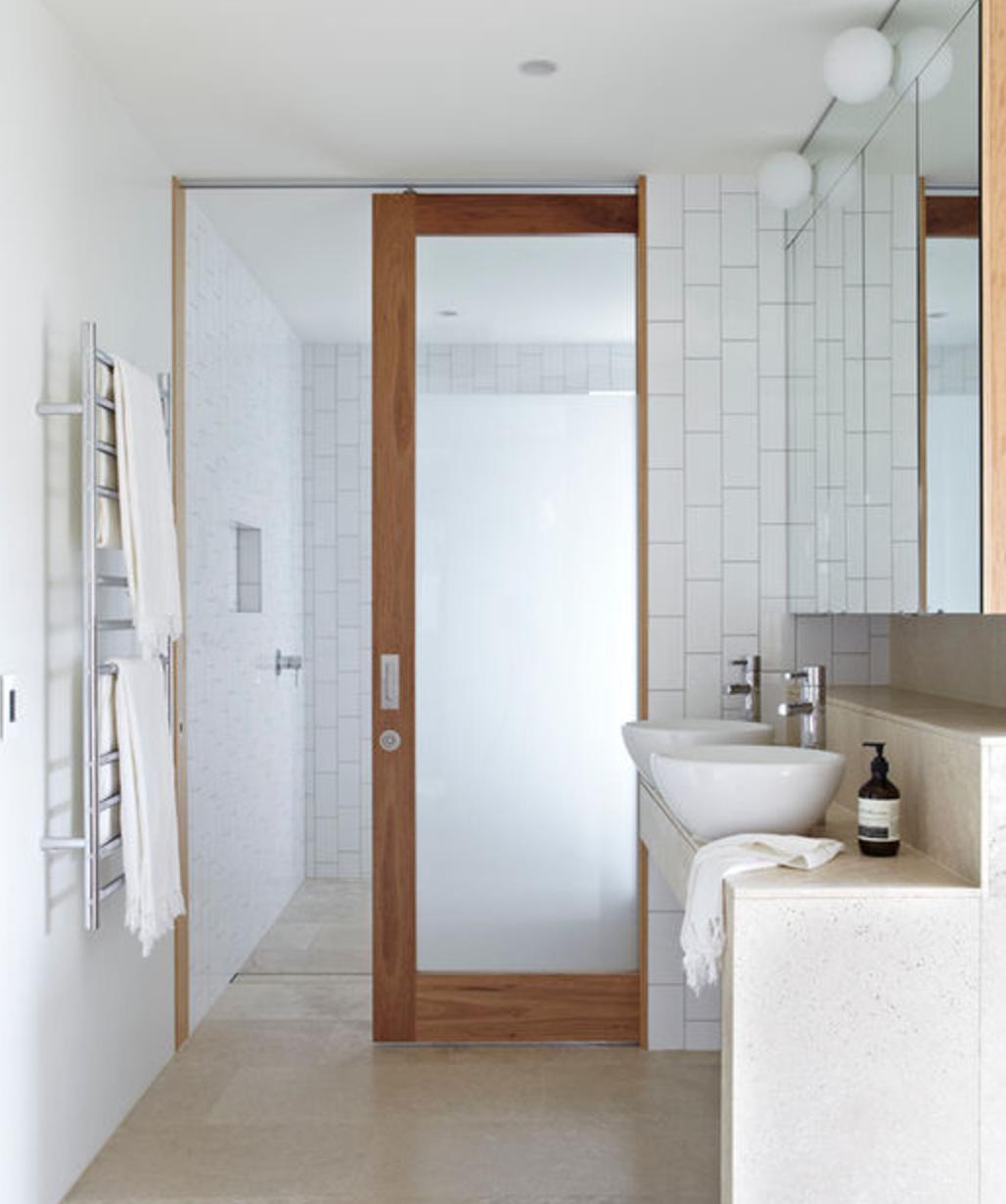Sliding Door W Translucent Glass Sliding Bathroom Doors Sliding Door Design Pocket Doors Bathroom