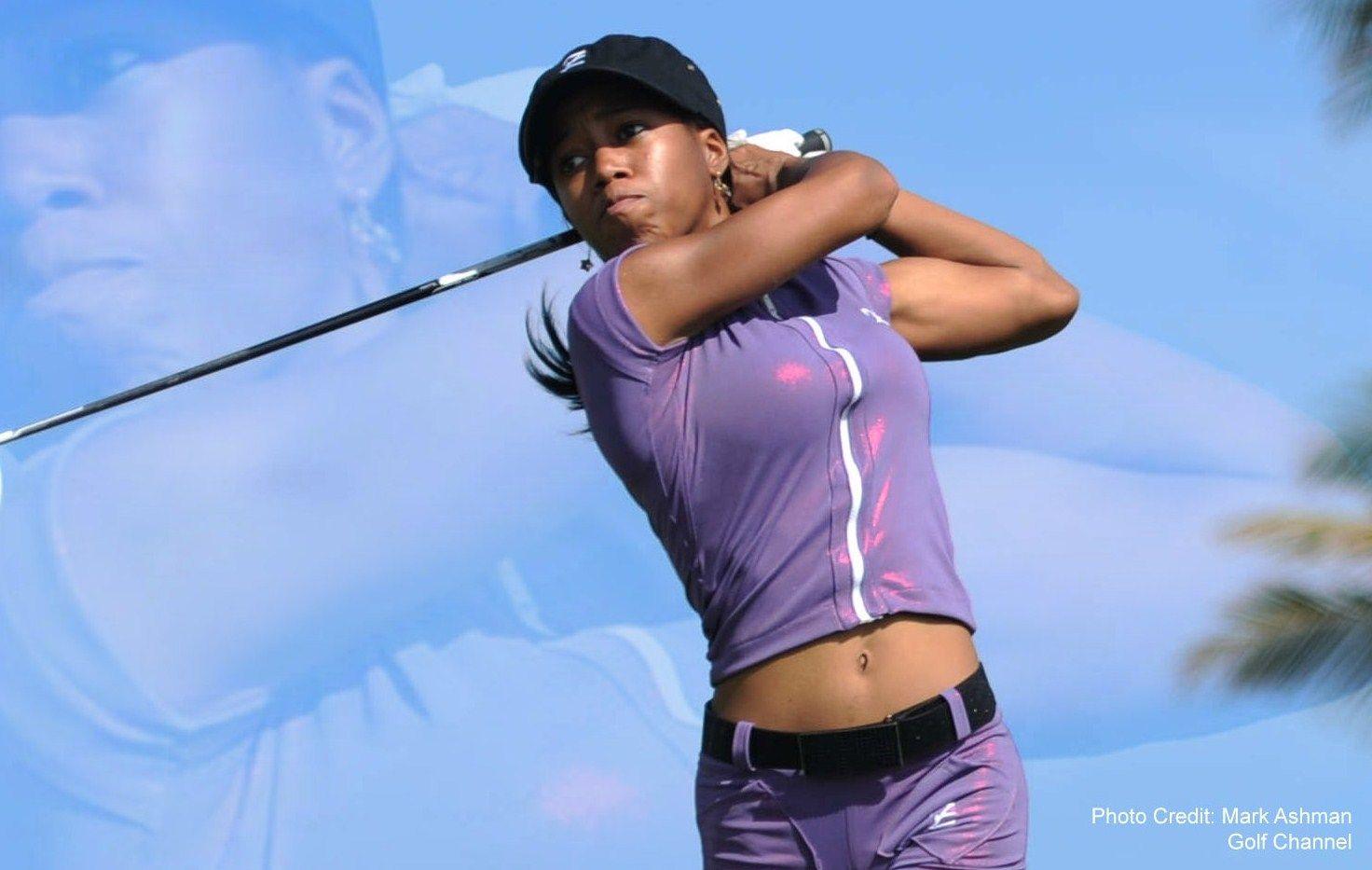 hot women and golf Meet 'Z' Zakiya Randall Golf Channel