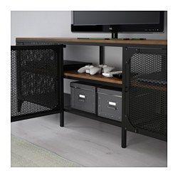 Fjällbo Tv Meubel Zwart Bathroom Tv Bench Ikea Tv Tv