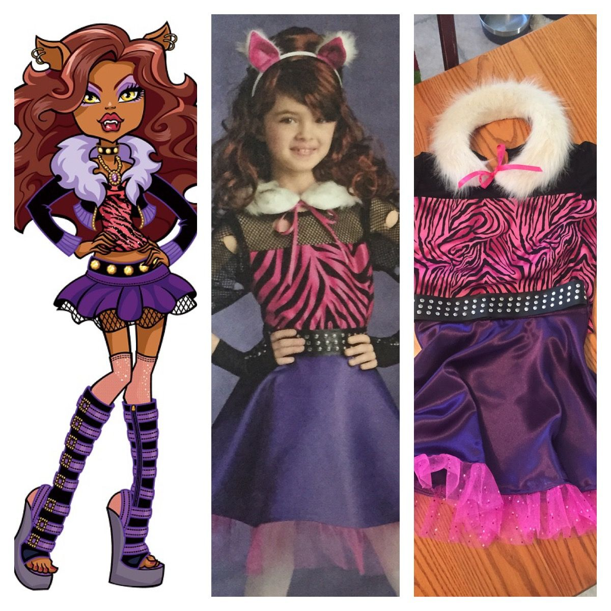 Monster High Clawdeen Wolf Kostuem.Monster High Clawdeen Wolf Costume Wolf Costume Costumes Zelda Characters