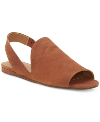 5fd04aac1bb Lucky Brand Women s Georgeta Flat Sandals - Brown 10M in 2019 ...