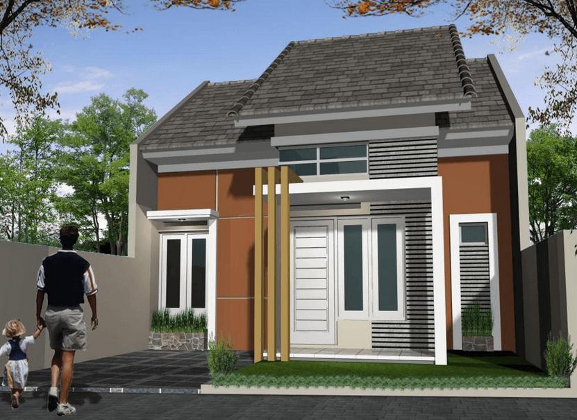 Desain Rumah Minimalis Type 27 72 Cek Bahan Bangunan