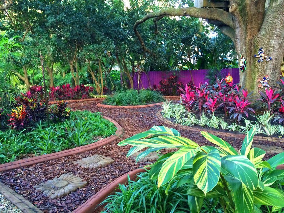South Florida Tropical Landscape Ideas Planter Container ...