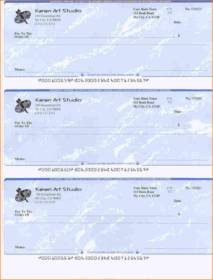 5 Blank Payroll Check Paper Secure Paystub Printing Software
