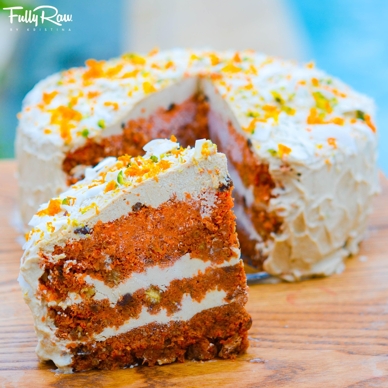 Fullyraw Carrot Cake Recipe