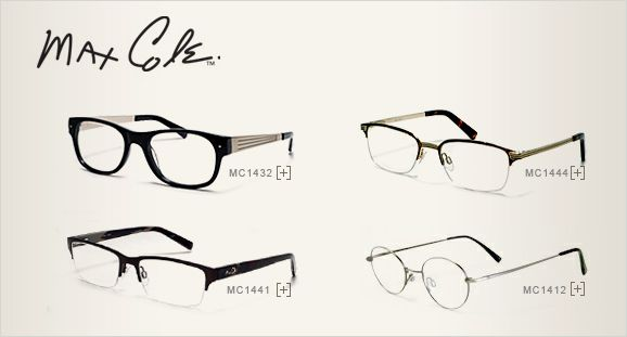 JCPenney Optical | Mens Max Cole Eyeglasses | Mens Max Cole Eyeglass ...