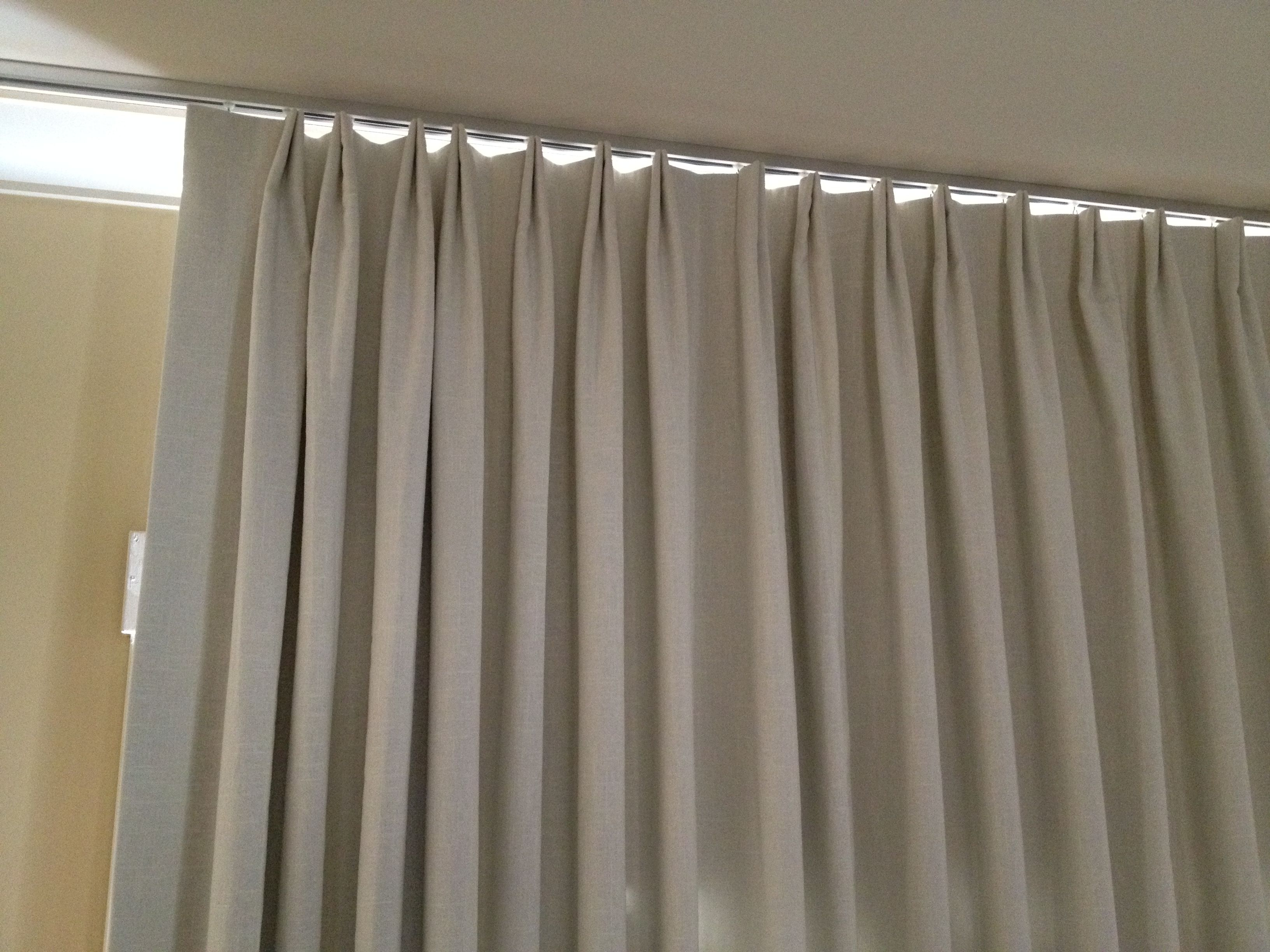 curtain ikea ceiling track decorative mount design ideas curtains modern