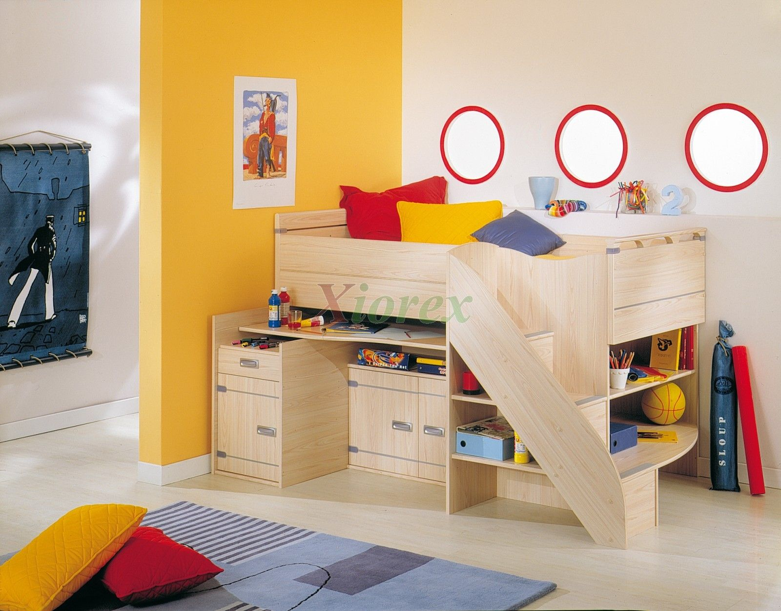 Cabin Beds For Small Rooms Cabin Bed Compact Gami Skipper Compact Cabin Bedgautier Xiorex