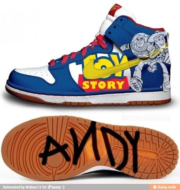 ToyStory #Shoes #Buzz #Woody