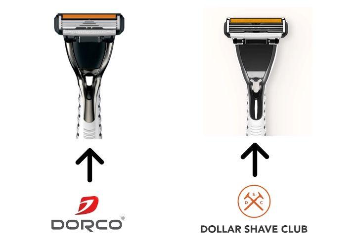 Dollar shave club vs dorco usa razor price comparison
