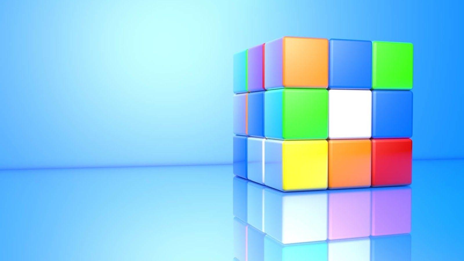 3D Rubik's Cube | Cube, Rubiks cube, Rubix cube