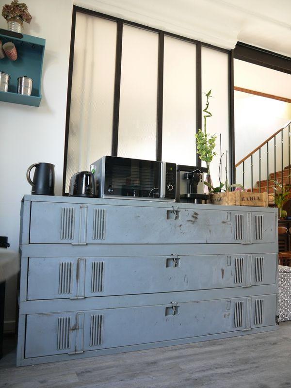 R sultat de recherche d 39 images pour relooker de vieux meuble en industrizl for the home - Renovation meuble industriel ...