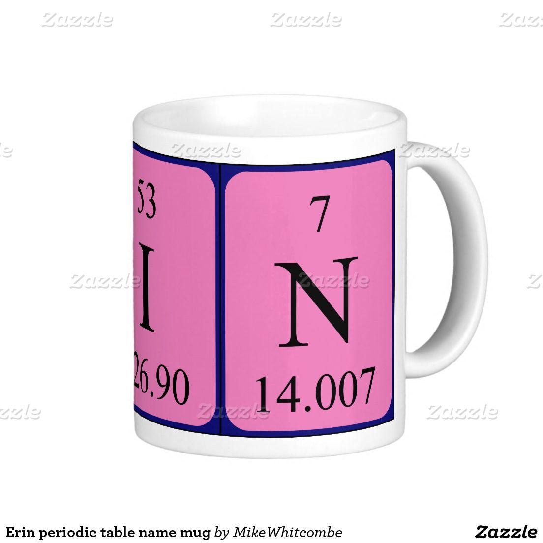 Erin periodic table name mug periodic table erin periodic table name mug urtaz Image collections