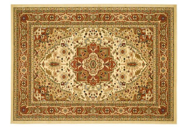 Perth Rug Ivory Rust 149 00 Ends In 10 Hours 58 Minutes