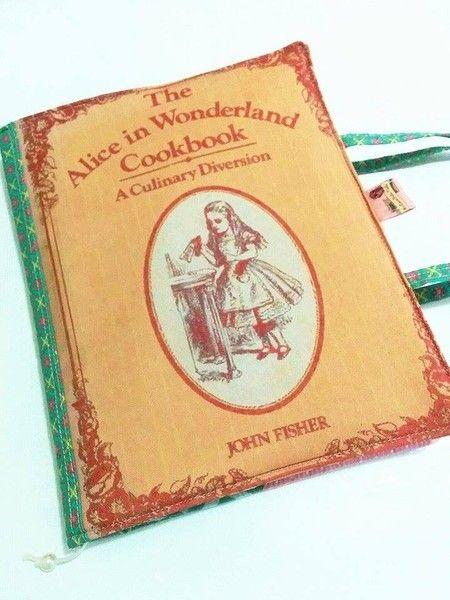 Capa para livros :: Alice in Wonderland - The Cookbook