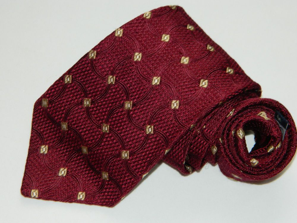 fb7ed8f2340 Men s Villa Bolgheri Red Silk Neck Tie made in Italy  fashion  clothing   shoes