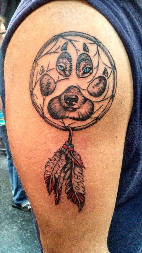 Wolf dreamcatcher tattoo ultimate arts madison wisconsin for Tattoo madison wi