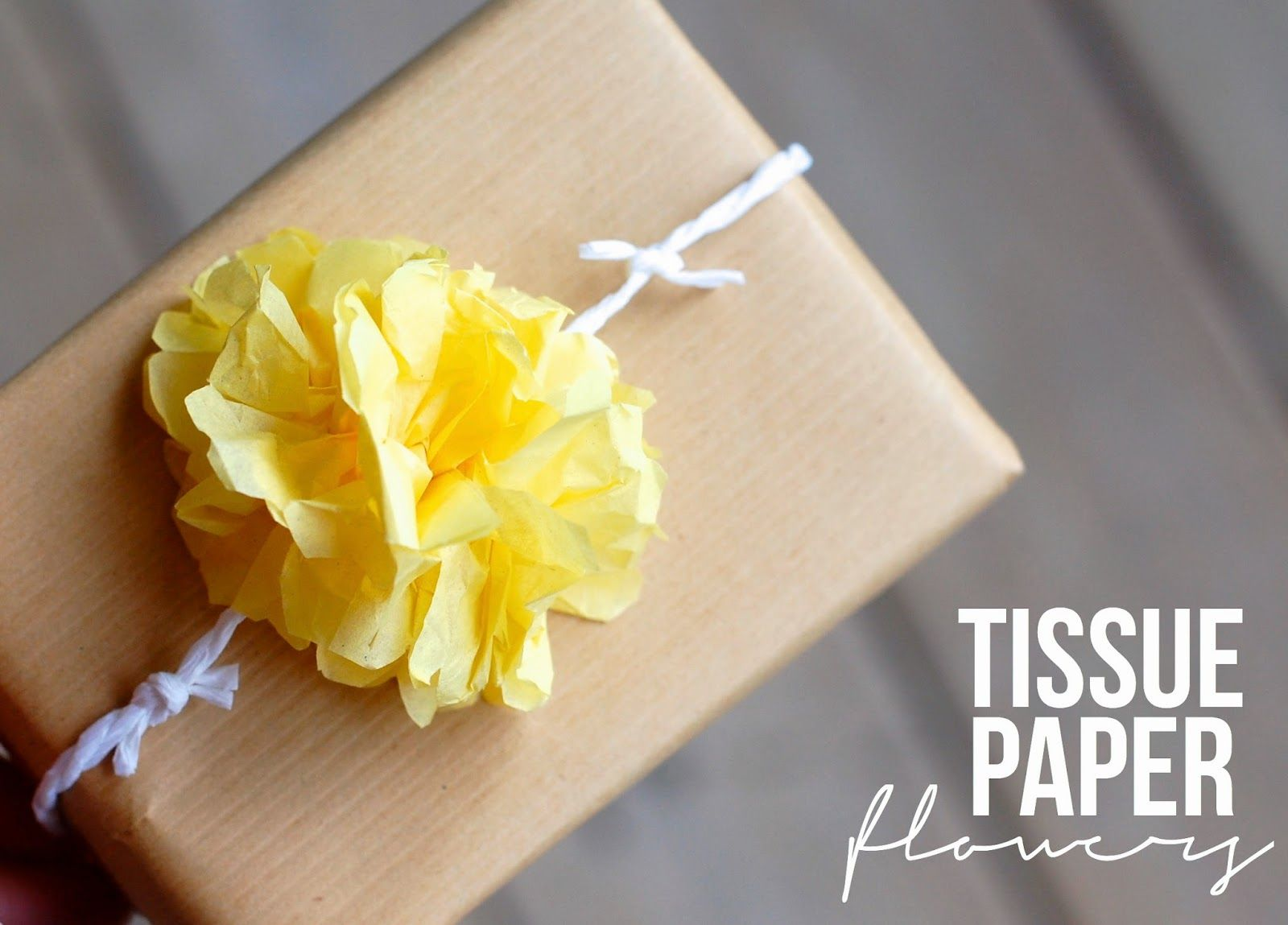 How To Tissue Paper Flowers Do It Yourself Pinterest Tissue