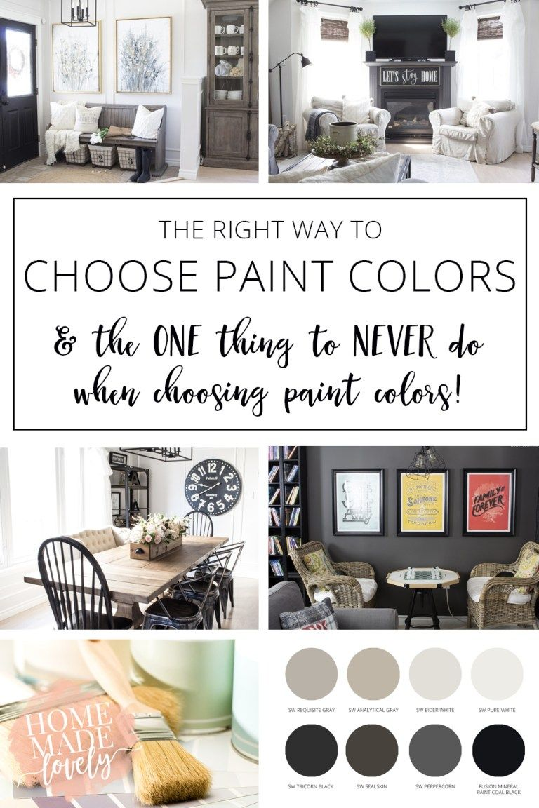 Dont want your paint color choices to suck once you get them on the walls heres the right way to choose paint colors and the one thing to never do when