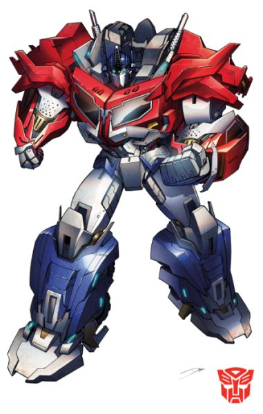 Optimus Prime from Transformers Prime Beasthunters