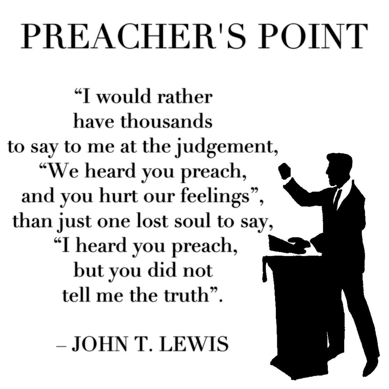 John Lewis Quotes: Preacher's Quotes / Citas De Predicadores